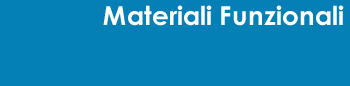 Materiali Funzionali